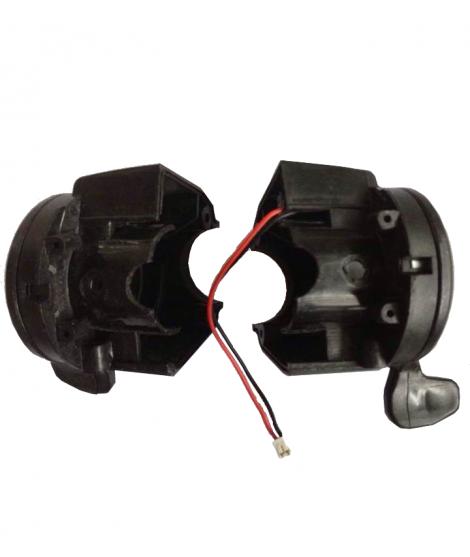 Brake and throttle lever set
